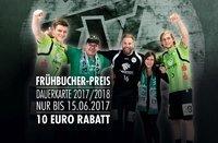TVE-Dauerkarte sichern - Frühbucherrabatt 10 € bis 15.06.17