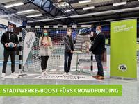 5.000€ Stadtwerke-Boost für unser Crowdfunding Projekt