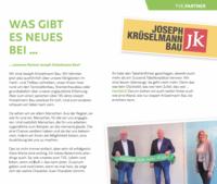 Neuer Partner - Krüselmanns Auftritt im Teamgeist