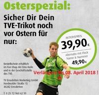 Osterspecial - TVE-Trikot - Verlängert bis 08. April 2018