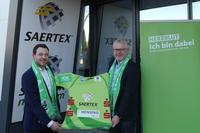 """Vorzeitiges """"Weihnachtsgeschenk"""": SAERTEX für zwei weitere Jahre Hauptsponsor"""