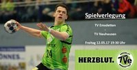 Spielverlegung TV Emsdetten - TV Neuhausen